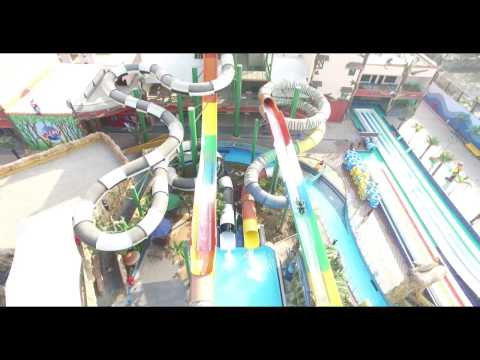 SKY SLIDER (WATER COASTER) at Amaazia Water Park, Surat