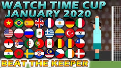 Beat The Keeper Watch Time Cup January 2020