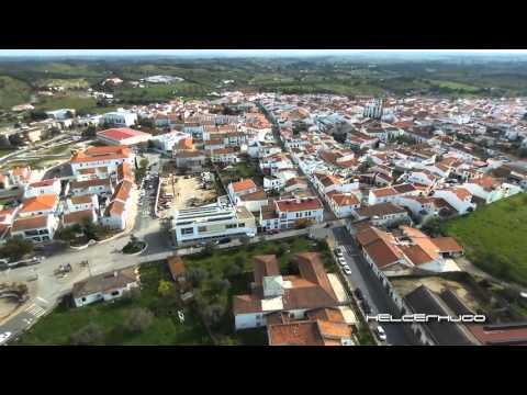 Vista aérea de Almodôvar Março de 2016 (Parrot Bebop Drone)