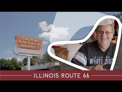 Illinois Route 66 Attractions: Dell Rhea Chicken Basket, Willowbrook