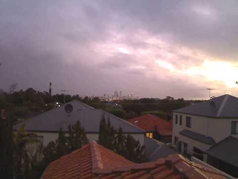 Perth hi res weather camera.