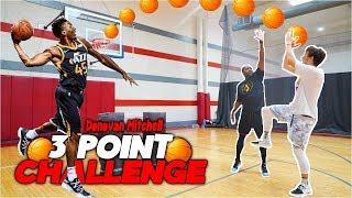 Epic NBA Basketball 3 point contest Donovan Mitchell vs Jesser!!