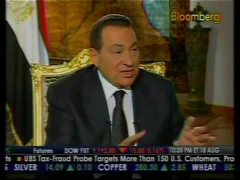 Egypt Under President Mubarak - Bloomberg
