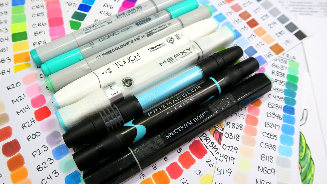 copic marker alternatives youtube