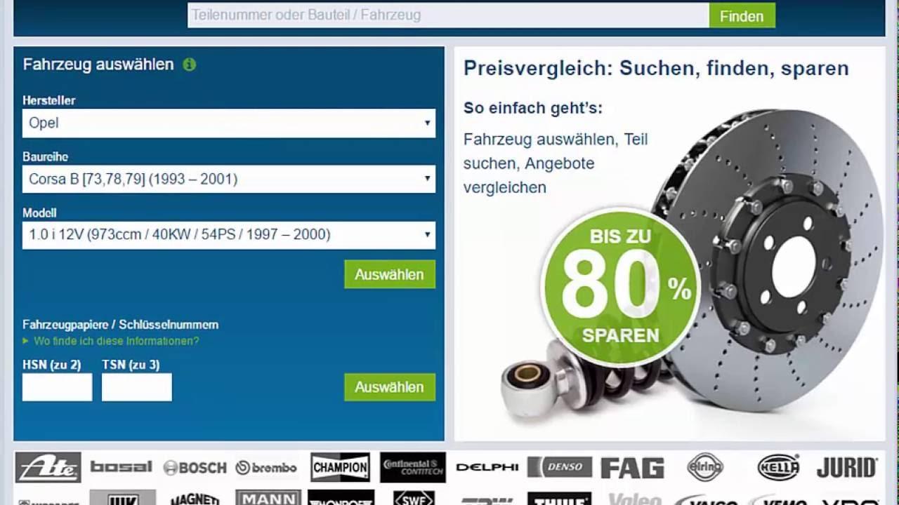 Daparto - so funktioniert der Autoteile-Preisvergleich im Internet ...