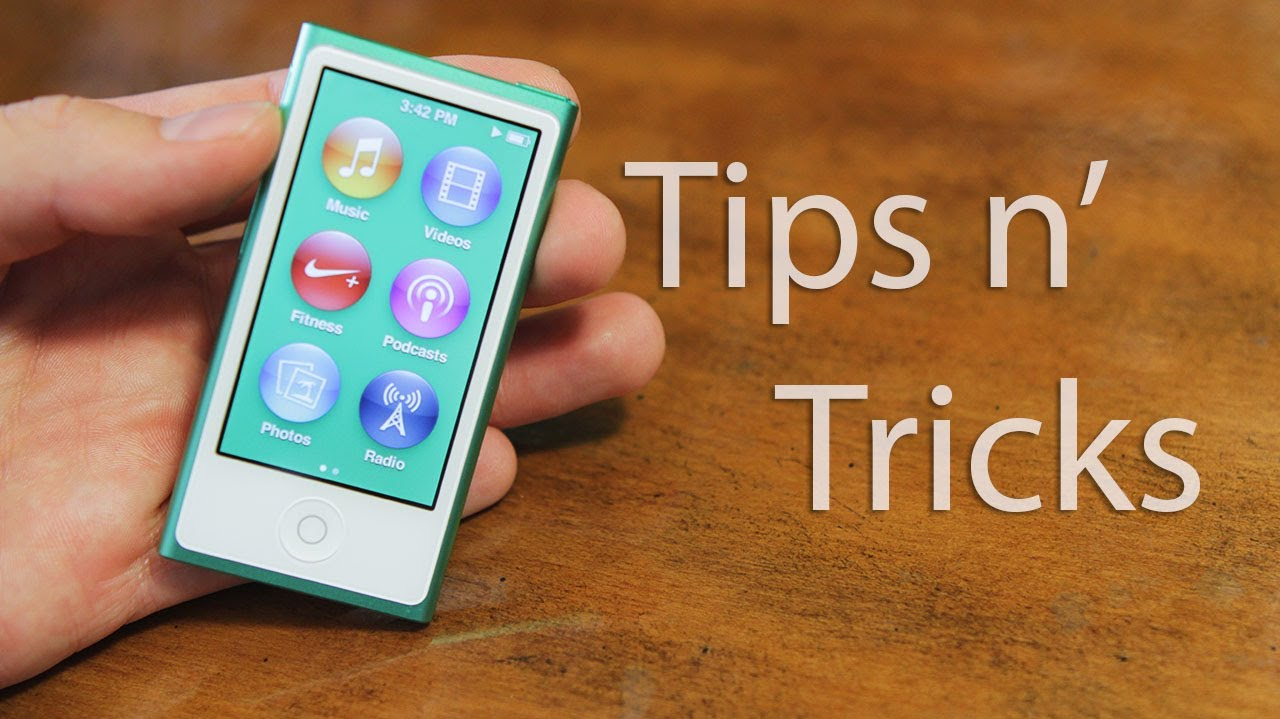 new ipod nano 7th generation tips and tricks youtube rh youtube com iPod Nano Recall Turn Off iPod Nano 2nd
