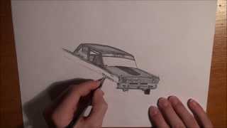 Drawing a drift car 2
