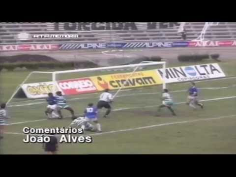 Belenenses - 2 x Sporting - 1 de 1989/1990 Final da Taça de Honra AF Lisboa