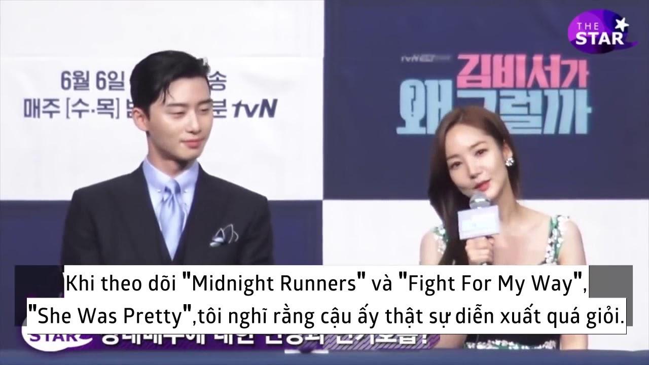 [VIETSUB] Park Min Young và Park Seo Joon nói về chemistry bùng nổ