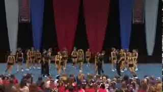 University of Regina Cheerleading - PCA UONCC 2013 - Run 1 - Small Co-ed - National Champs