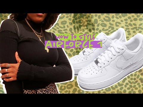 HOW TO LOOK CUTE AF THIS WINTER   HOW TO STYLE AIRFORCE 1's