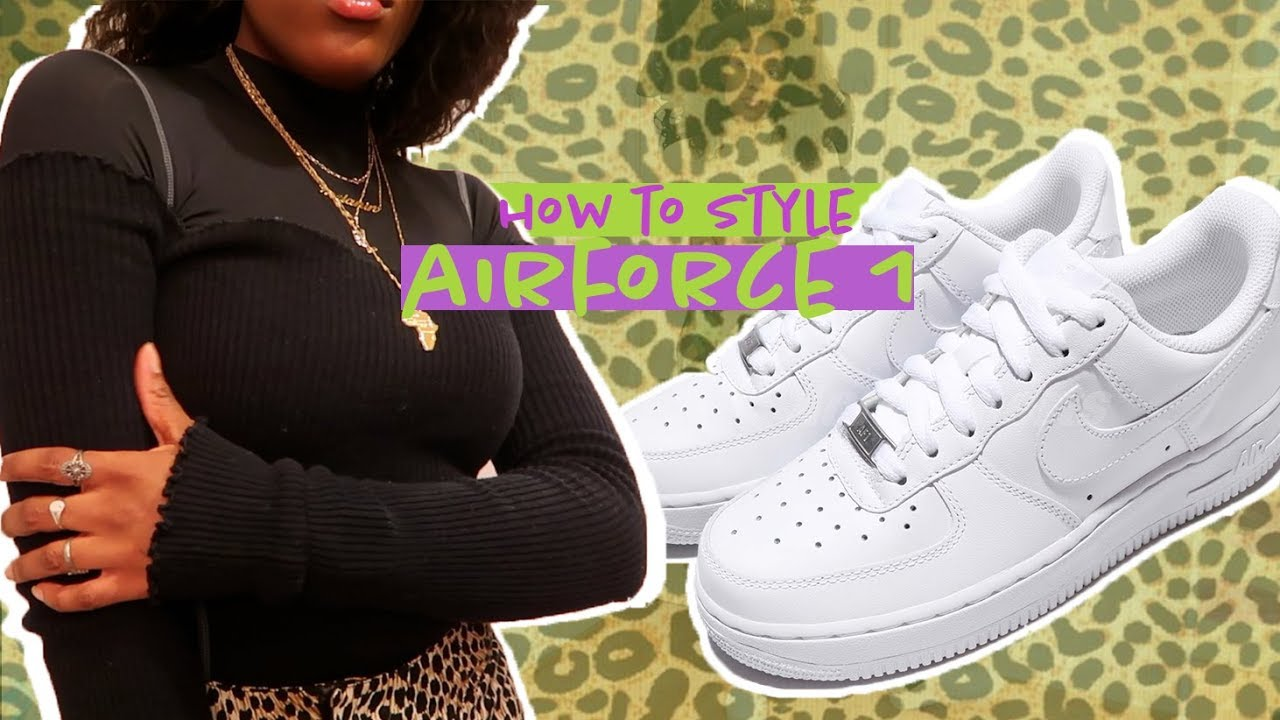 [VIDEO] - HOW TO LOOK CUTE AF THIS WINTER | HOW TO STYLE AIRFORCE 1's 7
