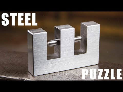Making an IMPOSSIBLE Steel Puzzle