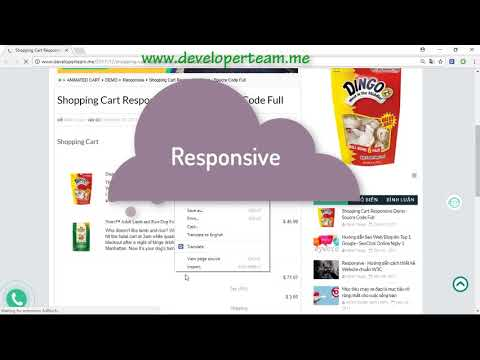 Developer Team - Shopping Cart Responsive Demo | Source Code