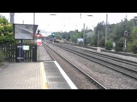 Trains at: Welwyn Garden City, ECML, 24/08/15