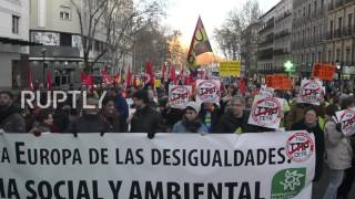 Spain  Hundreds rally against CETA and TTIP trade deals in Madrid