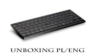 sony playstation 3 bluetooth wireless keyboard unboxing pl eng