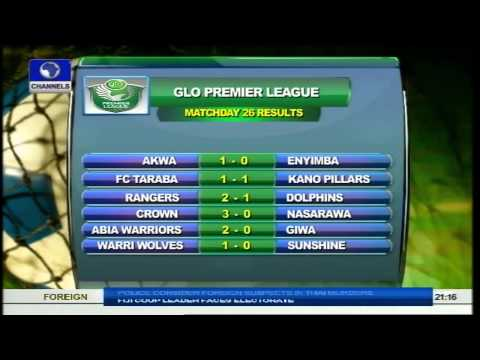 Sports Tonight: Review Of Week 28 Glo Premier League Games