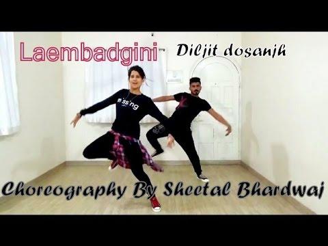 Laembadgini Song Dance Choreography Punjabi-Hip hop | Diljit Dosanjh | Latest Punjabi Song 2017