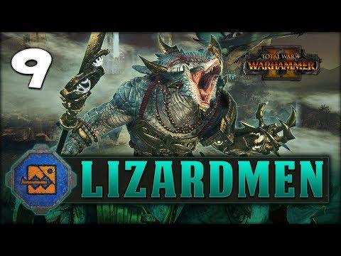 RISE OF THE SLANN! Total War: Warhammer 2 - Lizardmen Campaign - Kroq-Gar #9