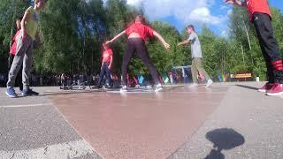 Школа брейк данса Нижний Новгород Serious Dance School | Открытие спорт площадки | Джем