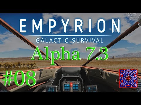 Power Station POI :: Empyrion Galactic Survival Omicron Gameplay (Alpha 7.3) : # 08