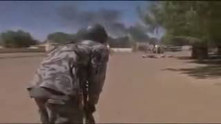 Video Of Live Gun Battle Between Nigerian Soldiers And Boko Haram Members