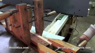 Shop Made Tenoning Jig For Table Saw 3 Of 12