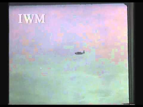 Diego Garcia Atoll - 1945 arrival of an RAF Sunderand Flying Boat