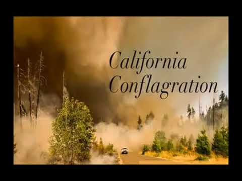 Planet X Arrival California Wildfires Created by Strange Energy Force
