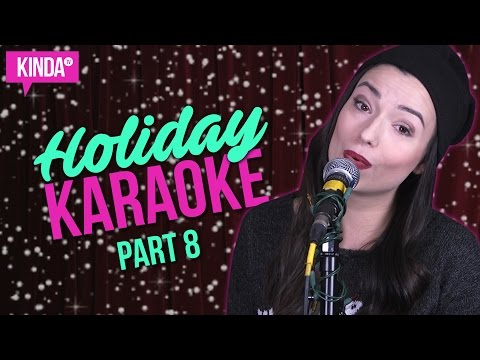 HOLIDAY KARAOKE CHALLENGE PART 8   KindaTV ft. Natasha Negovanlis