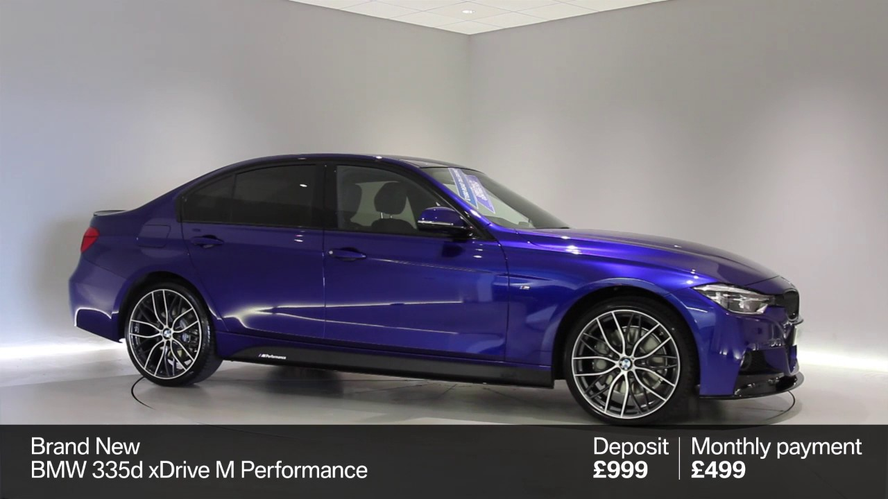 Bmw 335d Xdrive M Performance Offer Youtube