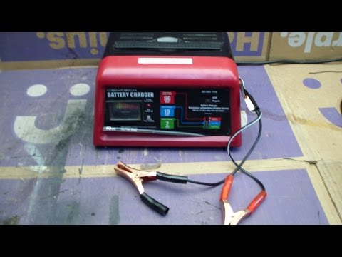 Harbor Freight 10/2/50 Amp Battery Charger Review - FAIL