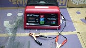 How To Use Car Battery Charger Youtube