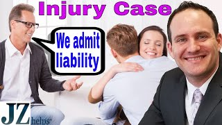 What is Admitting Liability in a Personal Injury Case?