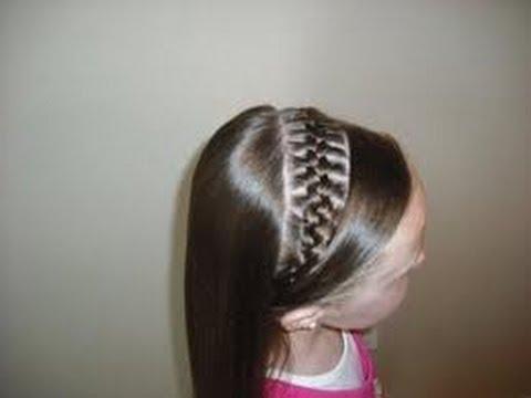 Peinados ideas faciles tutorial para los mas peque os para - Peinados nina pelo largo ...