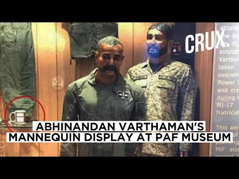Pak vulgarity on show in 'Abhinandan-inspired mannequin'