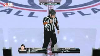 """NHL 2K10 """"CPU fight 1"""""""