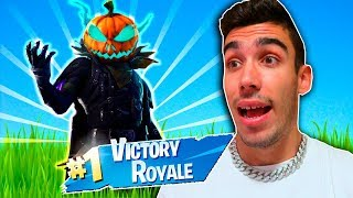 I PLAYED with NEW SKIN HOLLOWHEAD and gave this... (Fortnite Battle Royale)