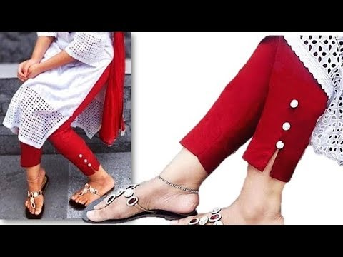Trendy New Style Ankle Length Pant Cutting And Stitching Full Tutorial