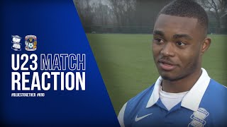 George - It was good to get on the scoresheet | Blues U23s 3-1 Coventry U23s