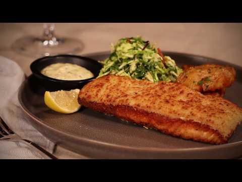 Horseradish-Crusted Salmon - Cooper's Hawk February 2019 Dinner Chef Recommendation