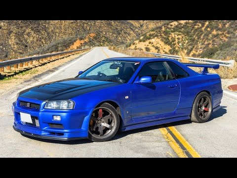 nissan r34 skyline gtr one take youtube. Black Bedroom Furniture Sets. Home Design Ideas