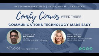 Comfy Convos: Communications Technology Made Easy