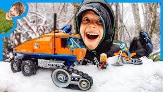 Lego City ARCTIC SNOW TRUCK ADVENTURE!