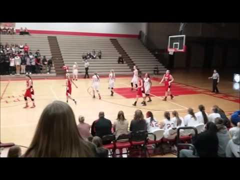 Coon Rapids Girls Basketball vs Duluth East (feat. Marina Nyberg #25)