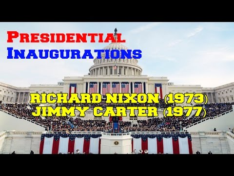 Presidential Inaugurations: Richard Nixon (1973) and Jimmy Carter (1977)