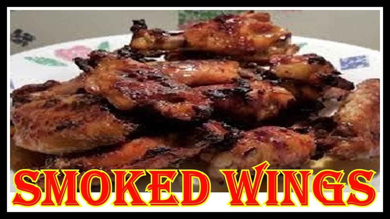 How To Smoke Chicken Wings In The Big Chief Smoker With Hickory