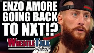 Enzo Amore HEAT Backstage Being Moved To NXT  WrestleTalk News Aug 2017