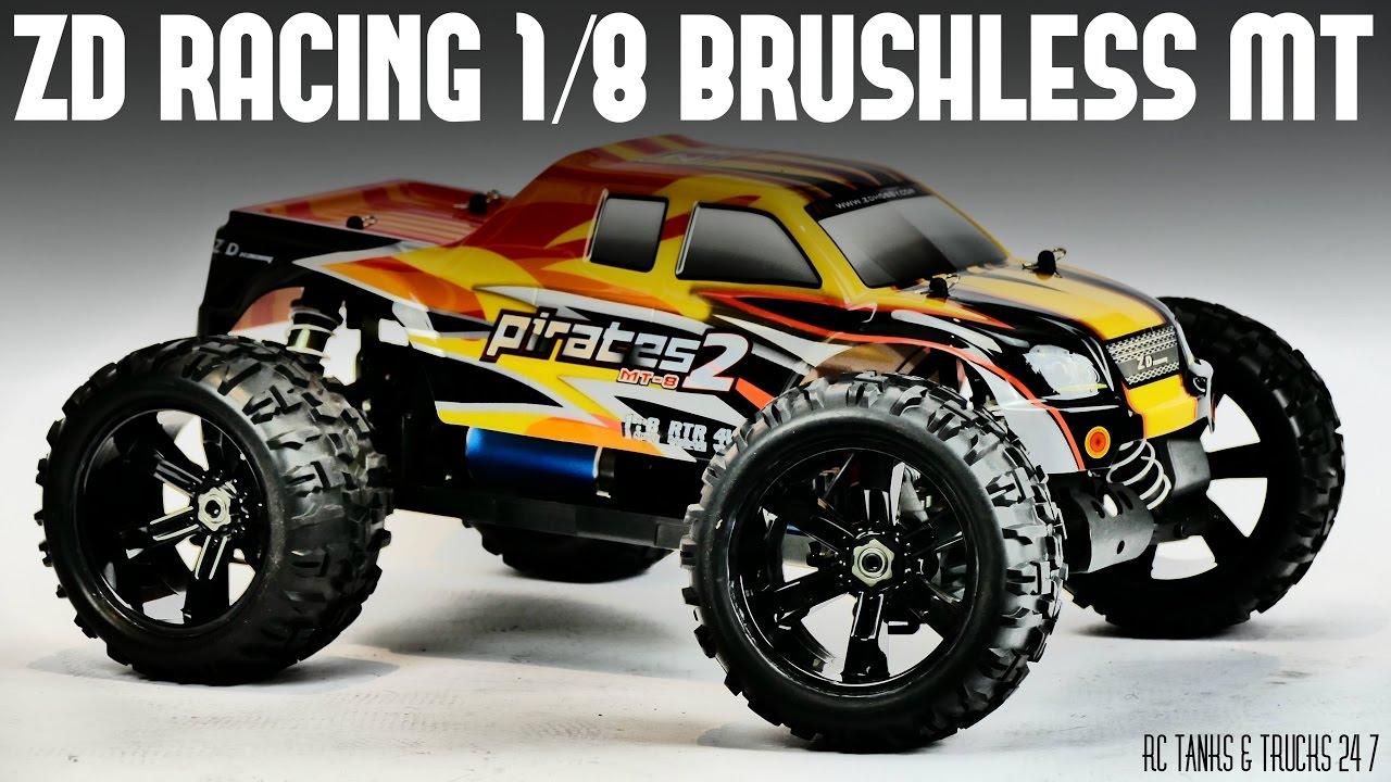 ZD Racing 1/8 Monster Truck UNDER $250 - Unboxing & In-Depth Look